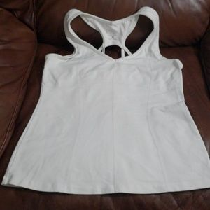 Athleta White Workout Tank
